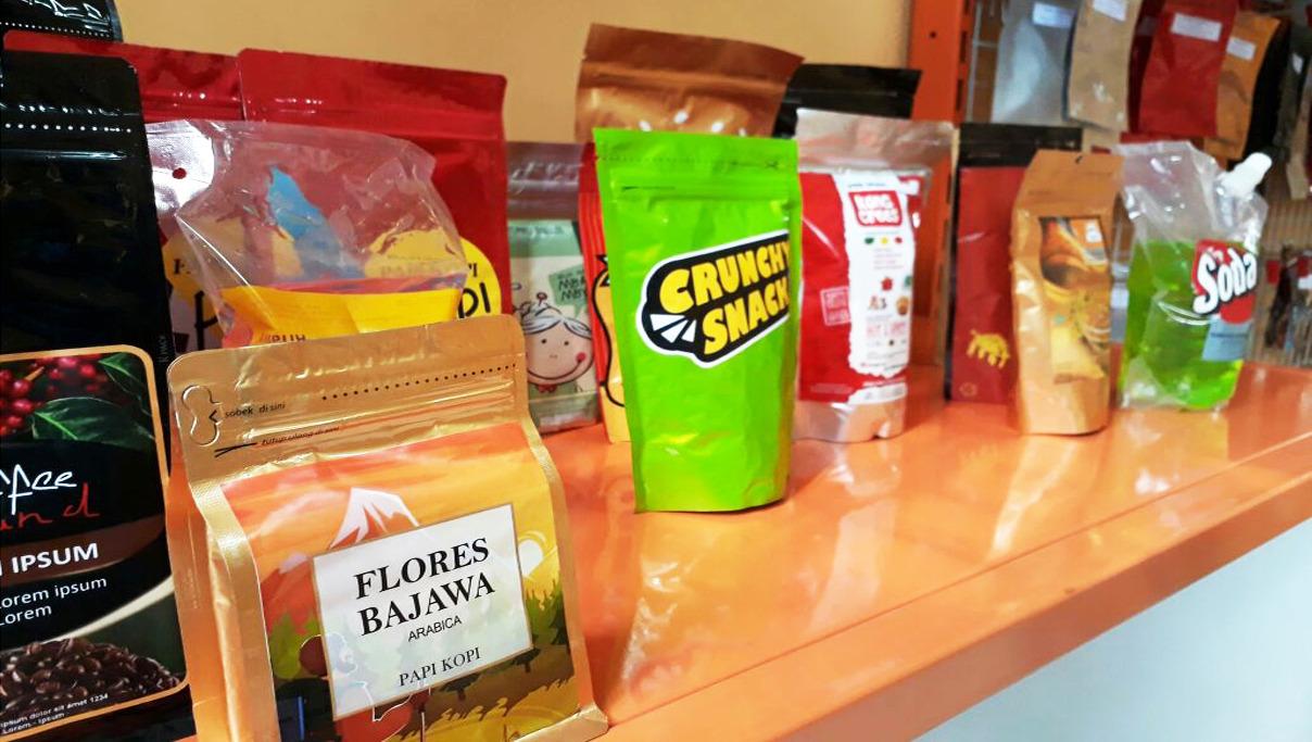 Toko Kemasan Kita Jual Makanan Plastik Ukm Aluminium Foil Untuk Berbagai Macam